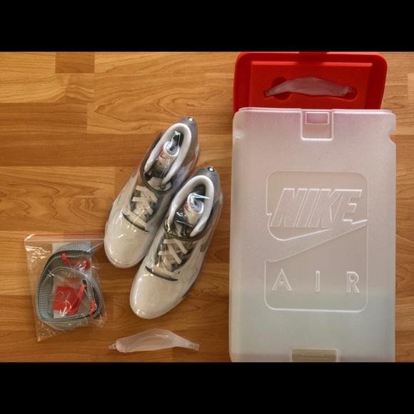 acheter populaire 6f3d4 e67ff Nike AIR PRESSURE David Robinson Spurs Retro Shoe NWT